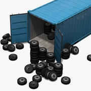 Freight Container 3d model