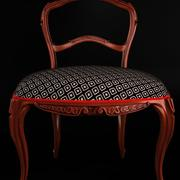 Classical antique furniture Rococo chair 3d model