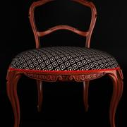 Klassische antike Möbel Rokokostuhl 3d model