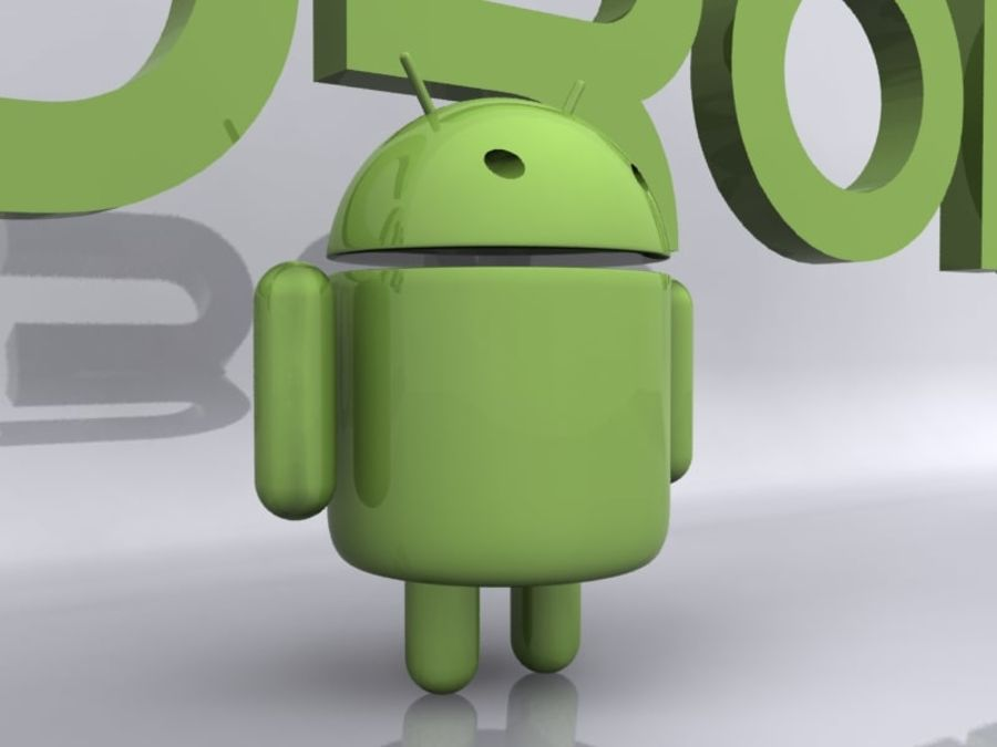 Android royalty-free 3d model - Preview no. 4