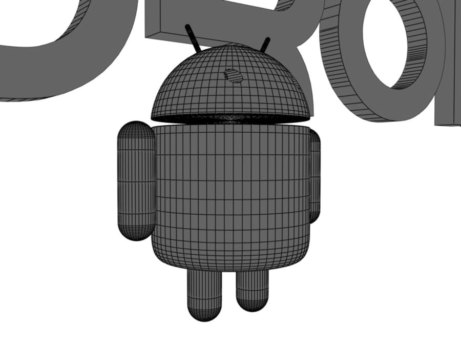 Android royalty-free 3d model - Preview no. 8
