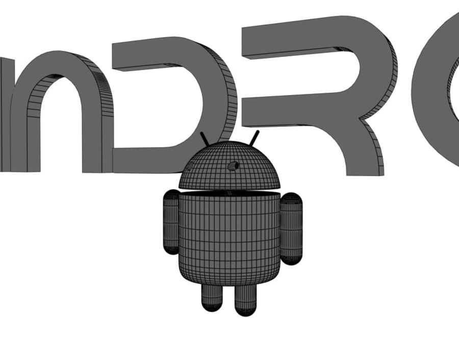 Android royalty-free 3d model - Preview no. 6