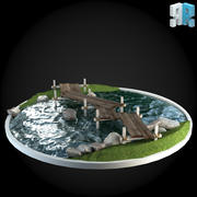 Puente 012 modelo 3d