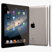 Apple iPad 3rd Generation Tablet 3d model