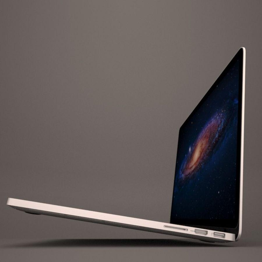 苹果MacBook Pro笔记本电脑 royalty-free 3d model - Preview no. 5