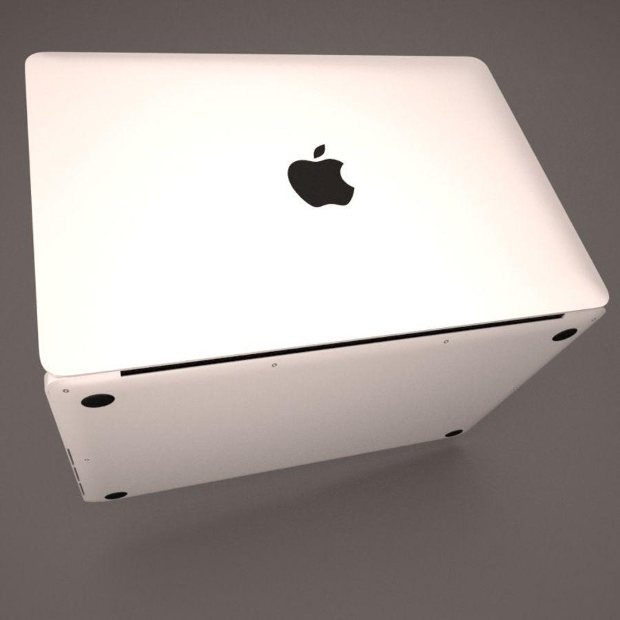 苹果MacBook Pro笔记本电脑 royalty-free 3d model - Preview no. 4