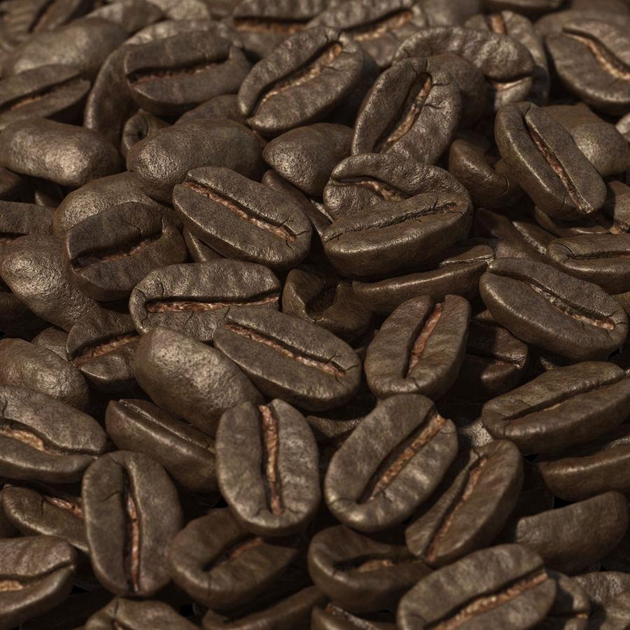 Coffee Bean Heap royalty-free 3d model - Preview no. 4
