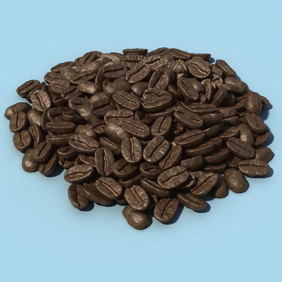 Coffee Bean Heap royalty-free 3d model - Preview no. 1
