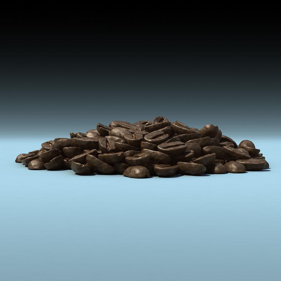 Coffee Bean Heap royalty-free 3d model - Preview no. 3