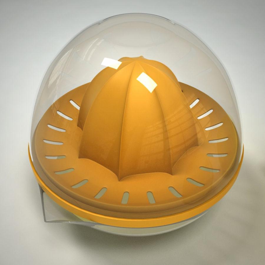 Citrus Juicer & Lemons royalty-free 3d model - Preview no. 2
