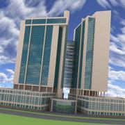 도시 마천루 3d model
