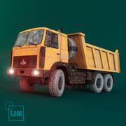 kipper vrachtwagen MAZ 3d model