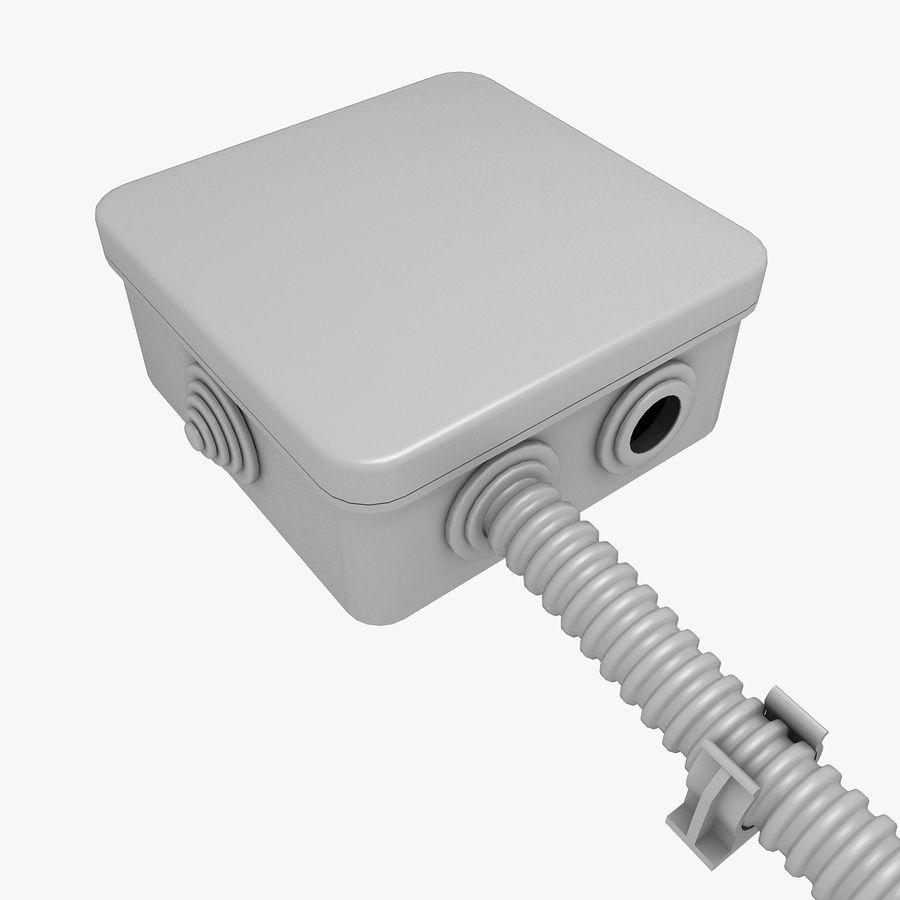 Skrzynka elektryczna royalty-free 3d model - Preview no. 1