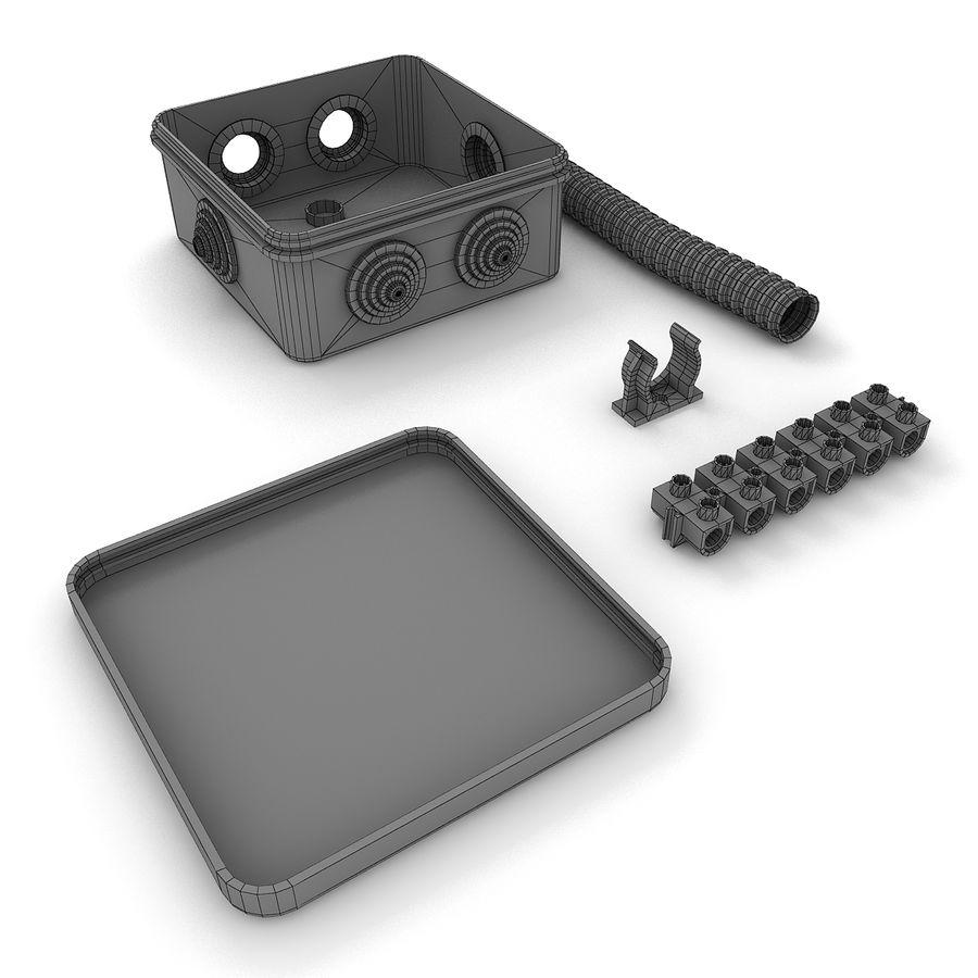 Skrzynka elektryczna royalty-free 3d model - Preview no. 6