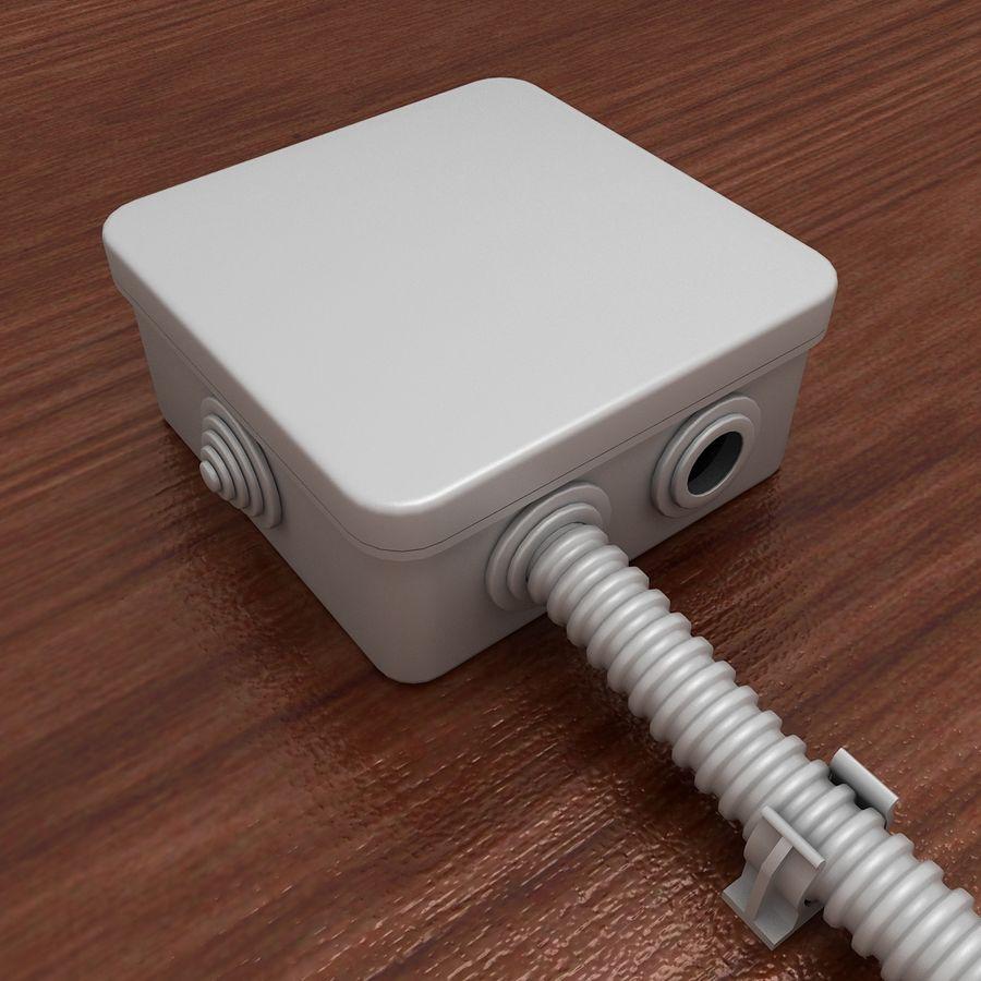 Skrzynka elektryczna royalty-free 3d model - Preview no. 2