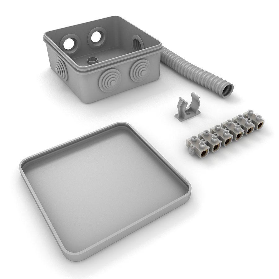 Skrzynka elektryczna royalty-free 3d model - Preview no. 5