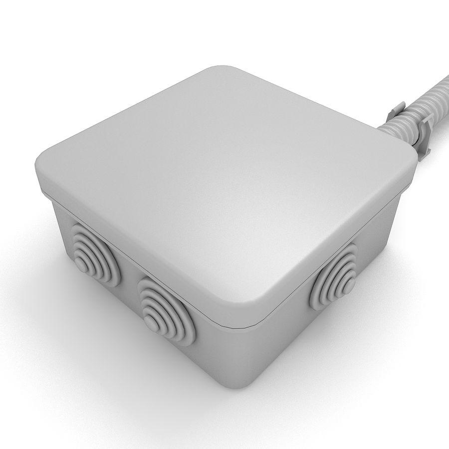 Skrzynka elektryczna royalty-free 3d model - Preview no. 3