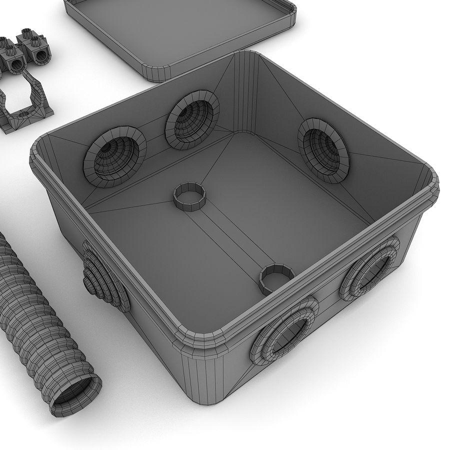 Skrzynka elektryczna royalty-free 3d model - Preview no. 8