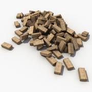 Debris Bricks 3d model