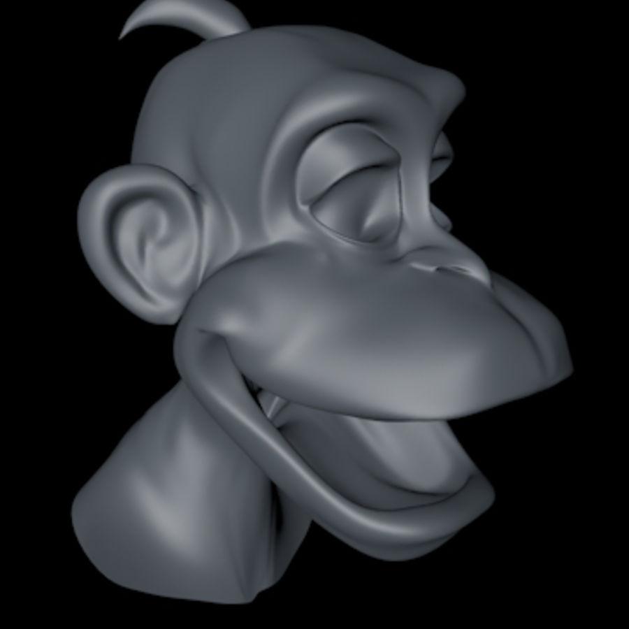 원숭이 royalty-free 3d model - Preview no. 1