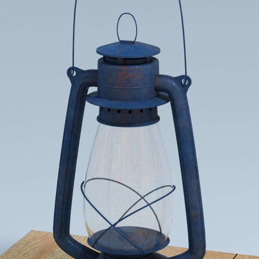 Oil Lamp royalty-free 3d model - Preview no. 1