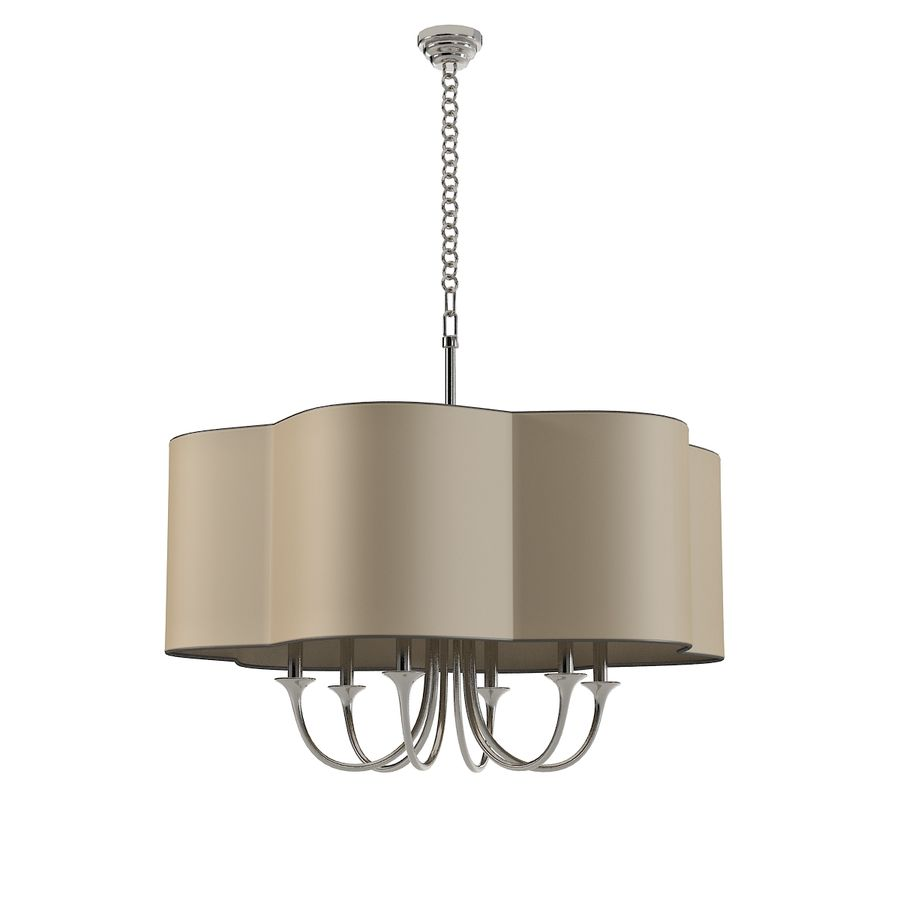 Arteriors Home Chandelier royalty-free modelo 3d - Preview no. 1