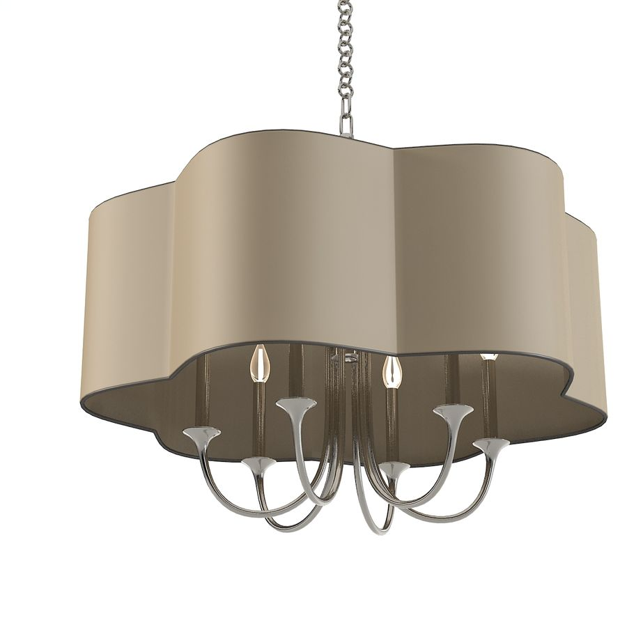 Arteriors Home Chandelier royalty-free modelo 3d - Preview no. 3