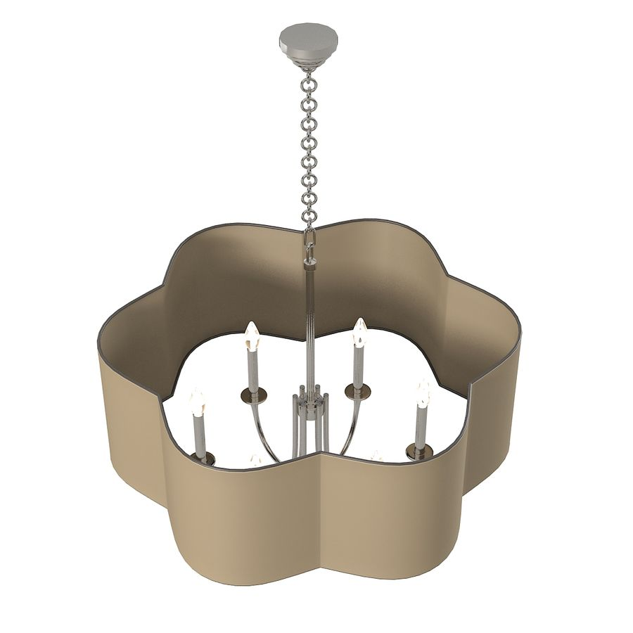 Arteriors Home Chandelier royalty-free modelo 3d - Preview no. 2