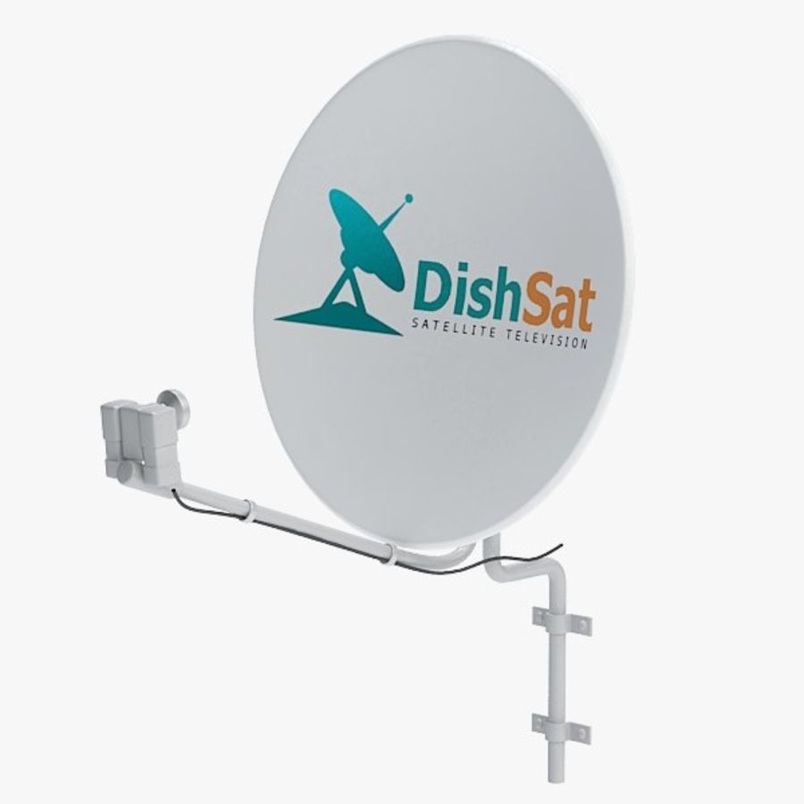 Satellite receiver005 royalty-free 3d model - Preview no. 1