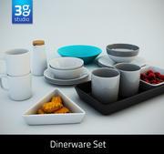 Set de vaisselle 3d model