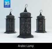 Arabic Lamp 2 3d model