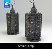 Arabic Lamp 3 3d model