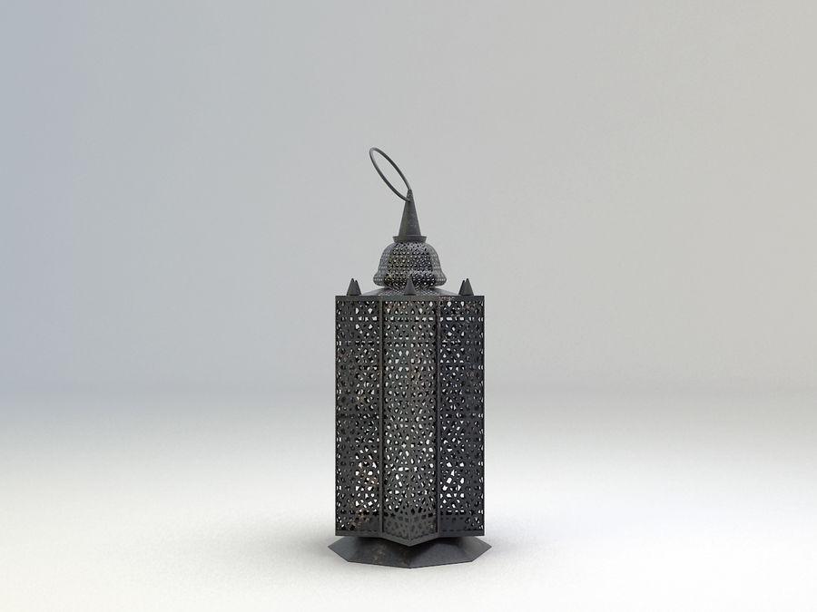 Arabic Lamp 3 royalty-free 3d model - Preview no. 3