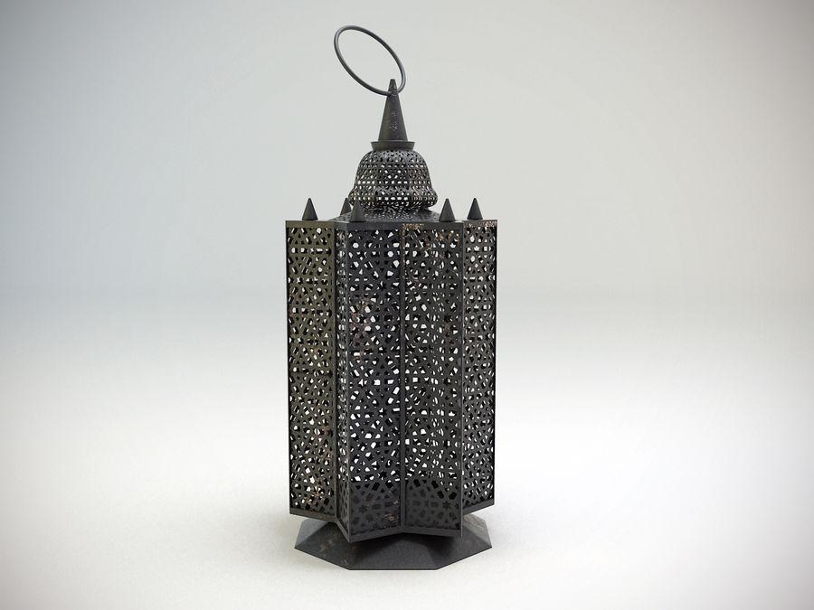 Arabic Lamp 3 royalty-free 3d model - Preview no. 2