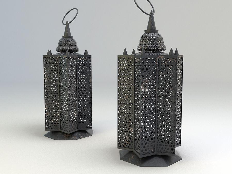 Arabic Lamp 3 royalty-free 3d model - Preview no. 6