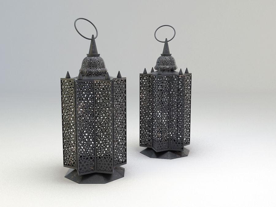 Arabic Lamp 3 royalty-free 3d model - Preview no. 4