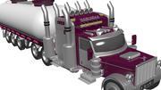 Long Vehicle (Tir) 3d model