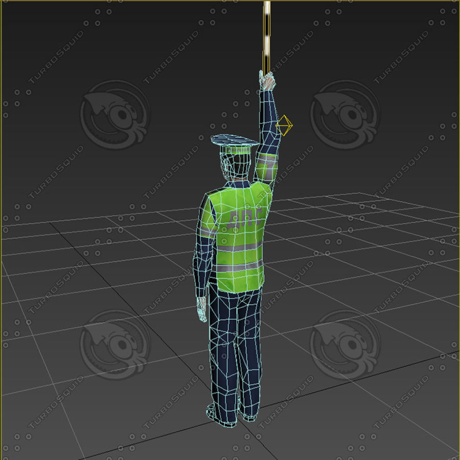 Polis royalty-free 3d model - Preview no. 12