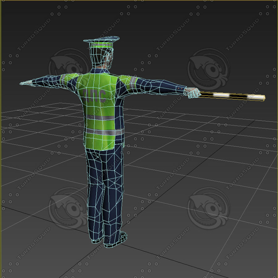 Polis royalty-free 3d model - Preview no. 13