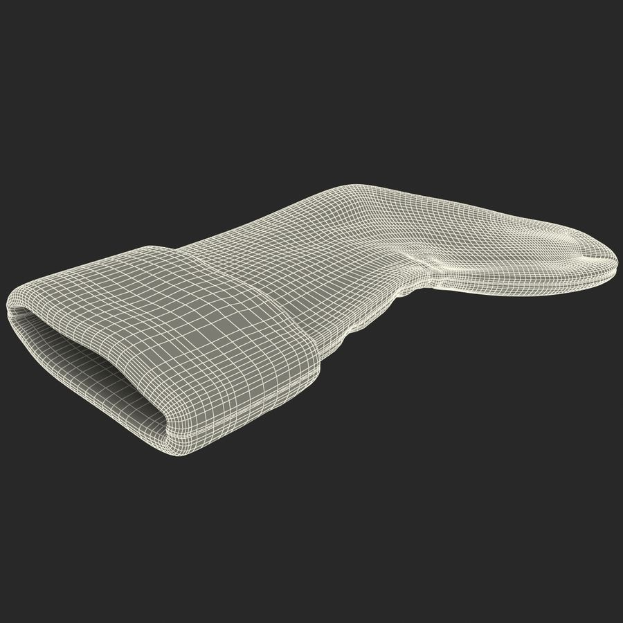 Christmas Stocking royalty-free 3d model - Preview no. 15