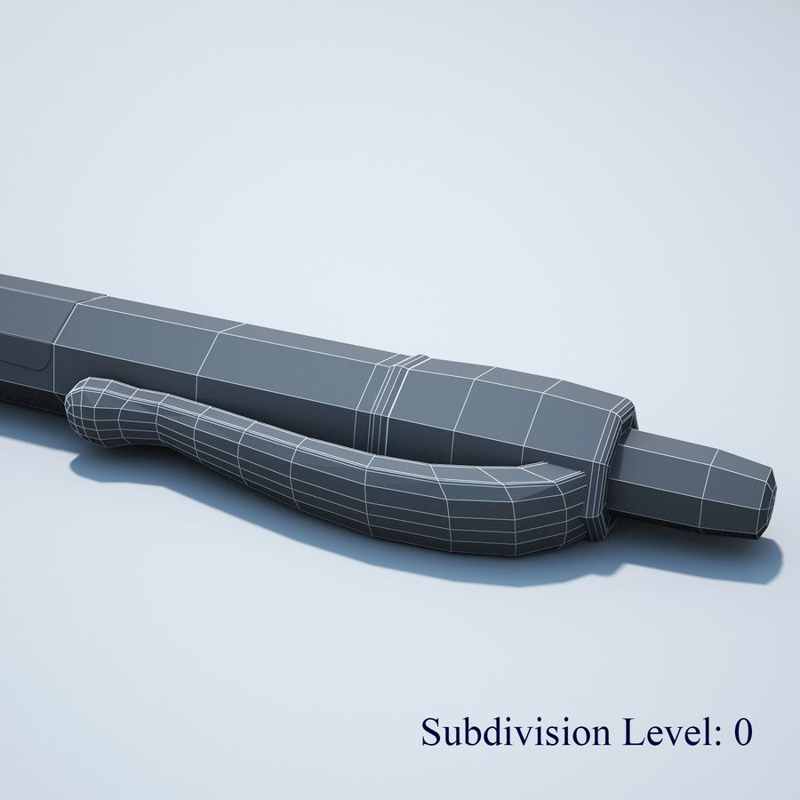 Penna royalty-free 3d model - Preview no. 15