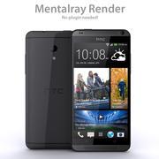 HTC Desire 700 Low Poly 3d model