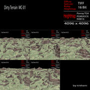 Dirty Terrain MC-01 3d model