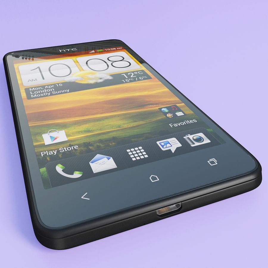 Wersja HTC Desire 400 Black royalty-free 3d model - Preview no. 8