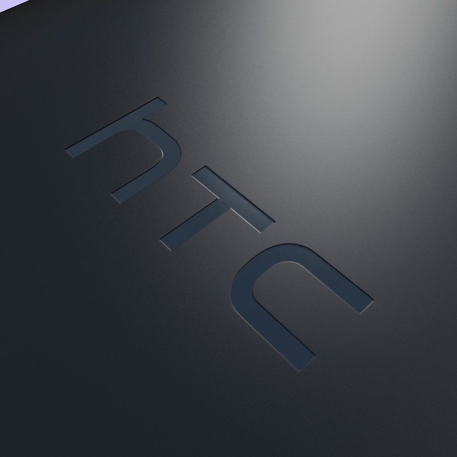 Wersja HTC Desire 400 Black royalty-free 3d model - Preview no. 15