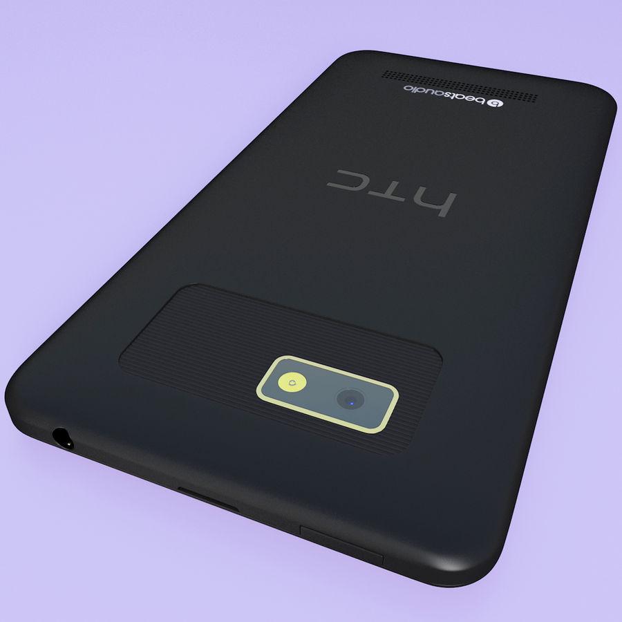 Wersja HTC Desire 400 Black royalty-free 3d model - Preview no. 10