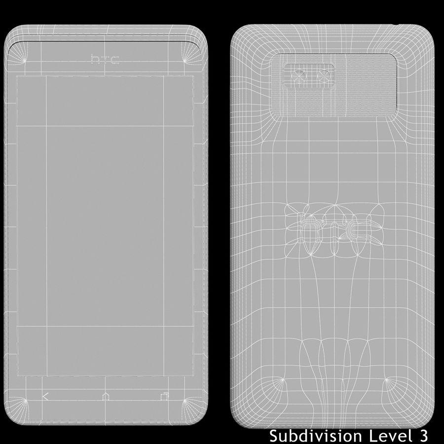 Wersja HTC Desire 400 Black royalty-free 3d model - Preview no. 18