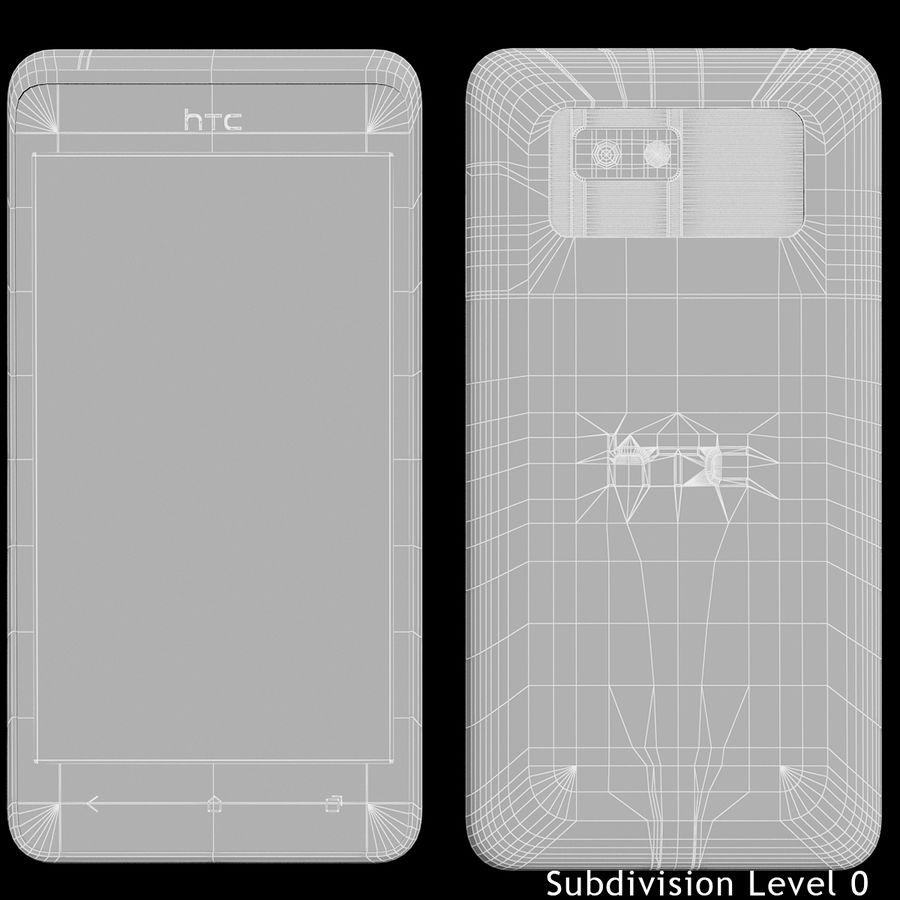 Wersja HTC Desire 400 Black royalty-free 3d model - Preview no. 16