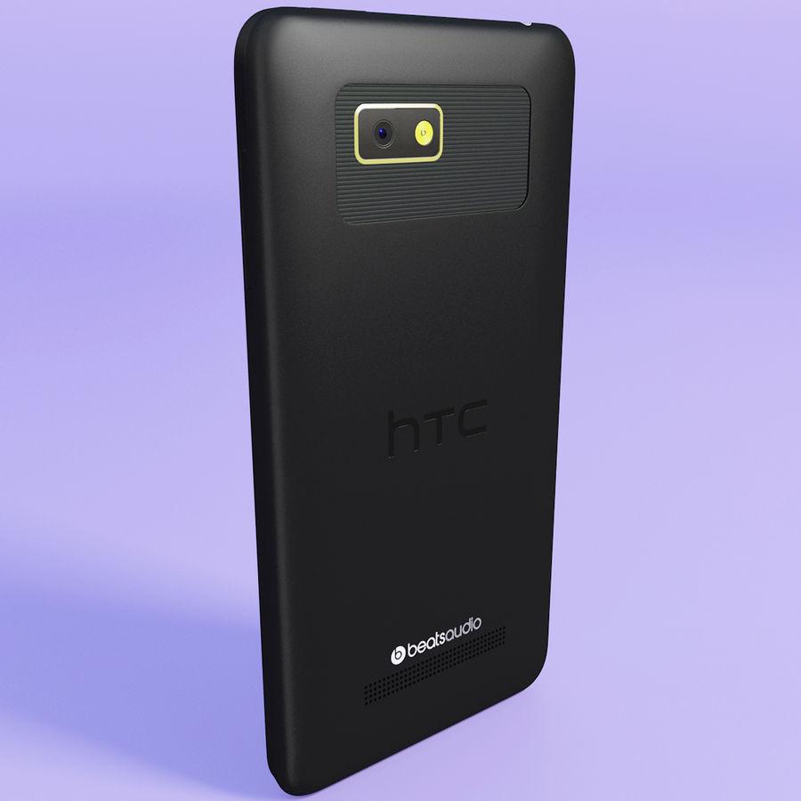 Wersja HTC Desire 400 Black royalty-free 3d model - Preview no. 5
