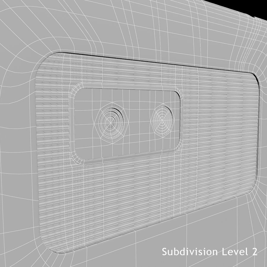 Wersja HTC Desire 400 Black royalty-free 3d model - Preview no. 20